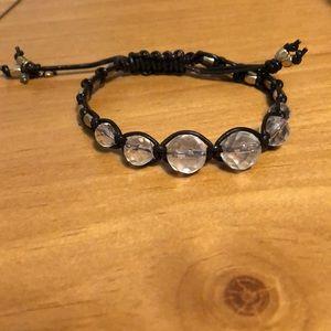 Lucky Brand faux leather expandable bracelet!